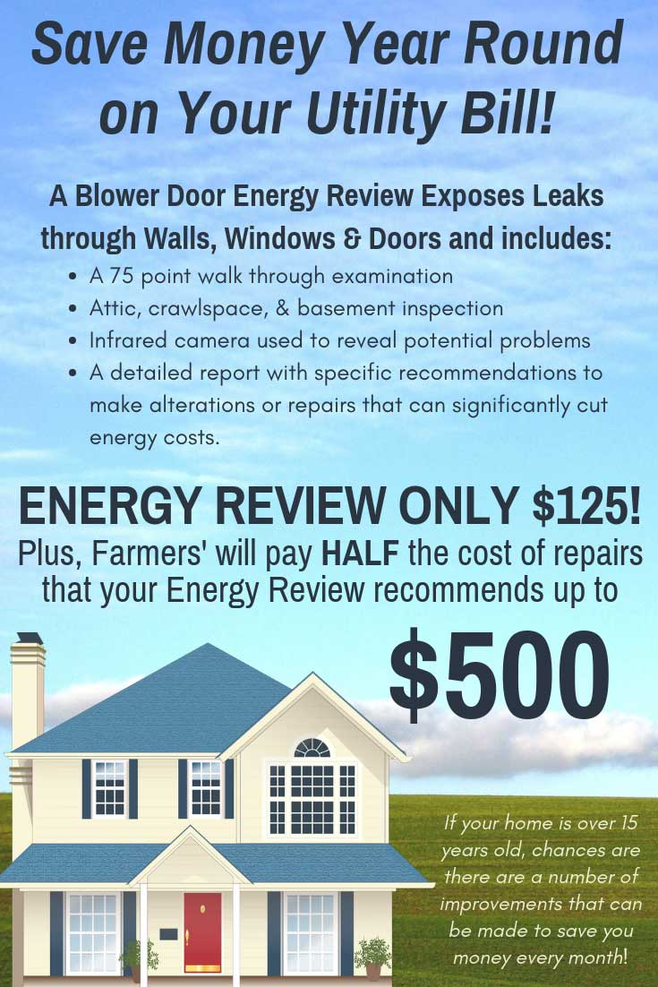 Farmers Only Reviews >> Home Energy Review Farmerselectric